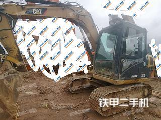 梧州卡特彼勒307D液壓挖掘機實拍圖片