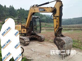 四川-南充市二手三一重工SY75C挖掘机实拍照片