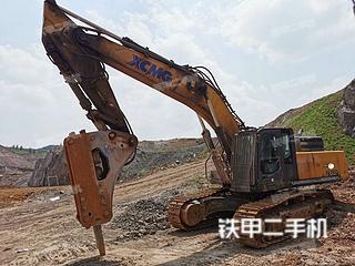 山东-日照市二手徐工XE470D挖掘机实拍照片