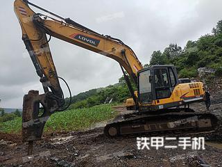 湖南-邵阳市二手雷沃重工FR260E挖掘机实拍照片