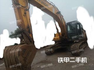 湖南-湘潭市二手现代R265LC-7挖掘机实拍照片
