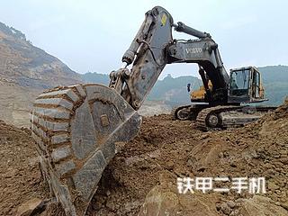 沃爾沃EC700C挖掘機實拍圖片