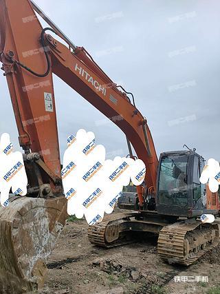 天津日立ZX200-3挖掘機實拍圖片