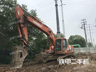 安徽-芜湖市二手斗山DH220LC-7挖掘机实拍照片