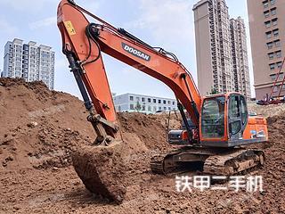 昆明斗山DX215-9C挖掘機實拍圖片