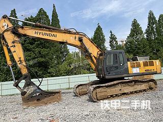 浙江-杭州市二手现代R455LC-7挖掘机实拍照片