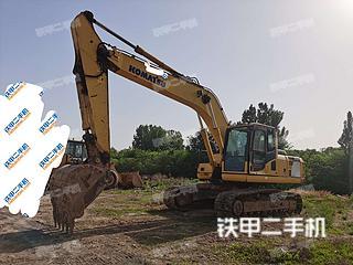 安阳小松PC220-8挖掘机实拍图片