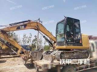 河南-许昌市二手卡特彼勒305.5E2小型液压挖掘机实拍照片