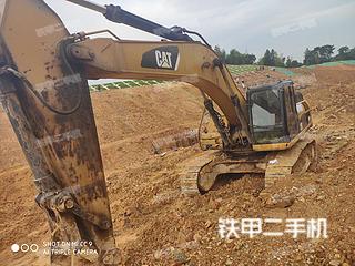 湖南-益阳市二手卡特彼勒336D液压挖掘机实拍照片