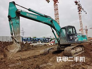 安徽-蚌埠市二手神钢SK210LC-8挖掘机实拍照片