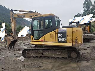二手小松挖掘机左后45实拍图227