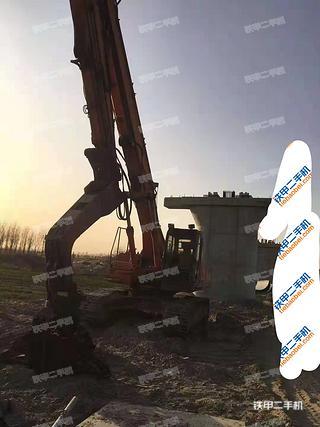 天津日立ZX350H挖掘機實拍圖片