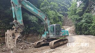 湖北-宜昌市二手神钢SK260LC-8挖掘机实拍照片