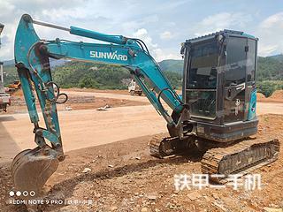 二手山河智能 SWE35UU 挖掘机转让出售