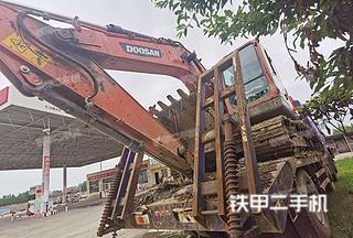 湖北-荆州市二手斗山DX130-9C挖掘机实拍照片