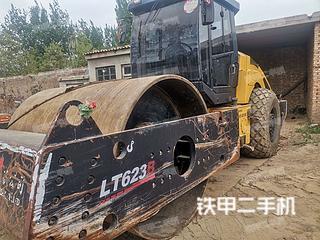 河北-邢台市二手洛阳路通LT623B压路机实拍照片
