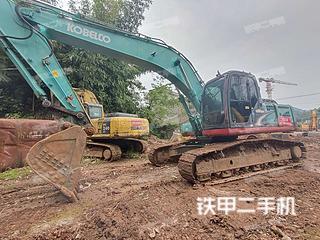 四川-雅安市二手神钢SK260LC-8挖掘机实拍照片