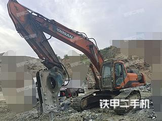 平頂山斗山DH370LC-7挖掘機實拍圖片