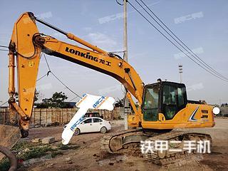 安阳龙工LG6240E挖掘机实拍图片