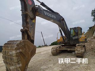 沃爾沃EC350DL挖掘機實拍圖片