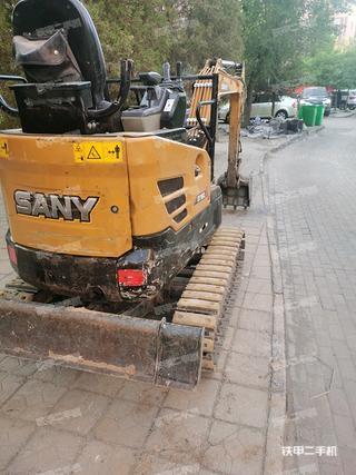 三一重工SY16C挖掘機實拍圖片