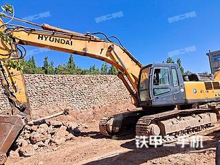 山东-临沂市二手现代R455LC-7挖掘机实拍照片