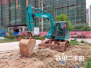 湖南-衡阳市二手山河智能SWE80E9挖掘机实拍照片