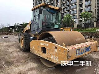 安徽-芜湖市二手徐工XS223JE压路机实拍照片