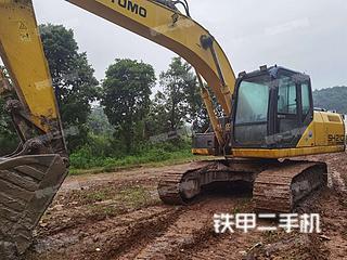 住友SH210-5挖掘机实拍图片