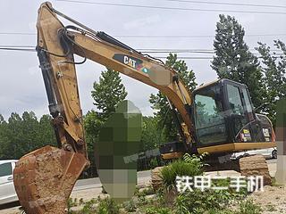 平頂山卡特彼勒313D2GC小型液壓挖掘機實拍圖片