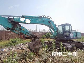 陕西-咸阳市二手神钢SK260LC-8挖掘机实拍照片