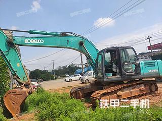 江西-九江市二手神钢SK260LC-8挖掘机实拍照片
