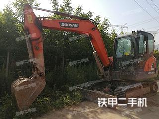 陕西-商洛市二手斗山DX55-9C挖掘机实拍照片