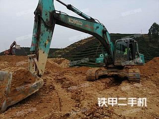 四川-眉山市二手神钢SK260LC-8挖掘机实拍照片