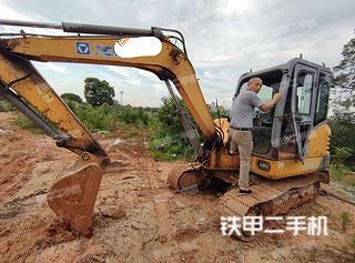 江西-南昌市二手徐工XE60CA挖掘机实拍照片