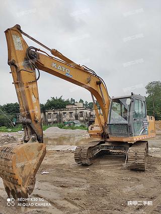 佛山加藤HD512V挖掘機實拍圖片