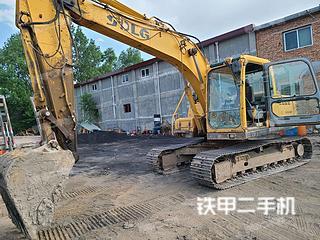 甘肃-平凉市二手山东临工LG6150挖掘机实拍照片