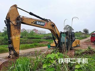 广元三一重工SY195C挖掘机实拍图片