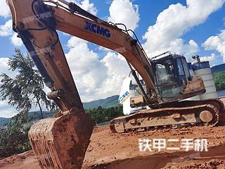 云南-西双版纳傣族自治州二手徐工XE265C挖掘机实拍照片