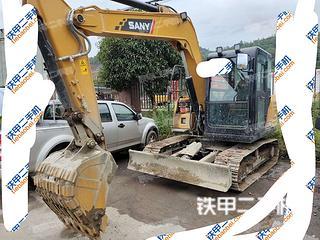 四川-雅安市二手三一重工SY75C挖掘机实拍照片