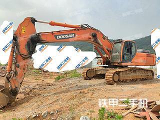 斗山DX420LC挖掘機實拍圖片