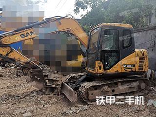 四川-遂宁市二手三一重工SY75C挖掘机实拍照片
