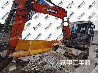斗山DX60W-9C挖掘機實拍圖片