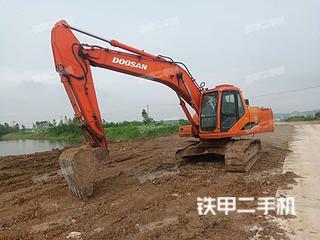安徽-淮南市二手斗山DH220LC-7挖掘机实拍照片