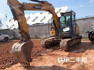 云南-文山壮族苗族自治州二手三一重工SY75C挖掘机实拍照片