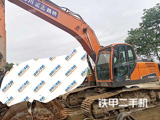 四川-成都市二手斗山DX220LC-9C挖掘机实拍照片