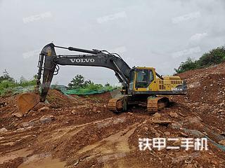 湖南-怀化市二手沃尔沃EC360BLC挖掘机实拍照片
