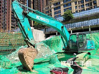 陕西-西安市二手神钢SK260LC-10挖掘机实拍照片