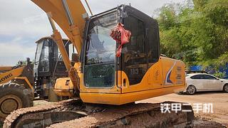 四川-成都市二手龙工LG6225E挖掘机实拍照片