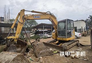 广东-湛江市二手加藤HD308US挖掘机实拍照片